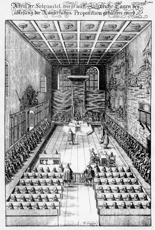 Kurien des reichstages des Heiligen R%C3%B6mischen Reiches