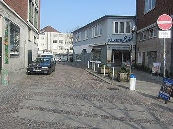 Kurze Straße, Ecke Kleiner Kuhberg