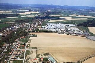 Municipality and village in Hradec Králové Region, Czech Republic
