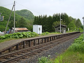 Kyū-Shirataki Station Former railway station in Engaru, Hokkaido, Japan