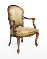 Länstol, 1700-talets mitt - Hallwylska museet - 110081.tif