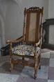 Länstol, 1700 cirka - Skoklosters slott - 103786.tif