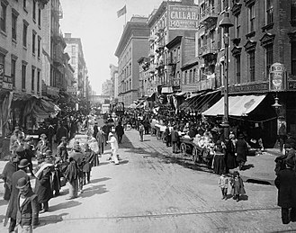 Irving Berlin - Lower East Side in the early 1900s