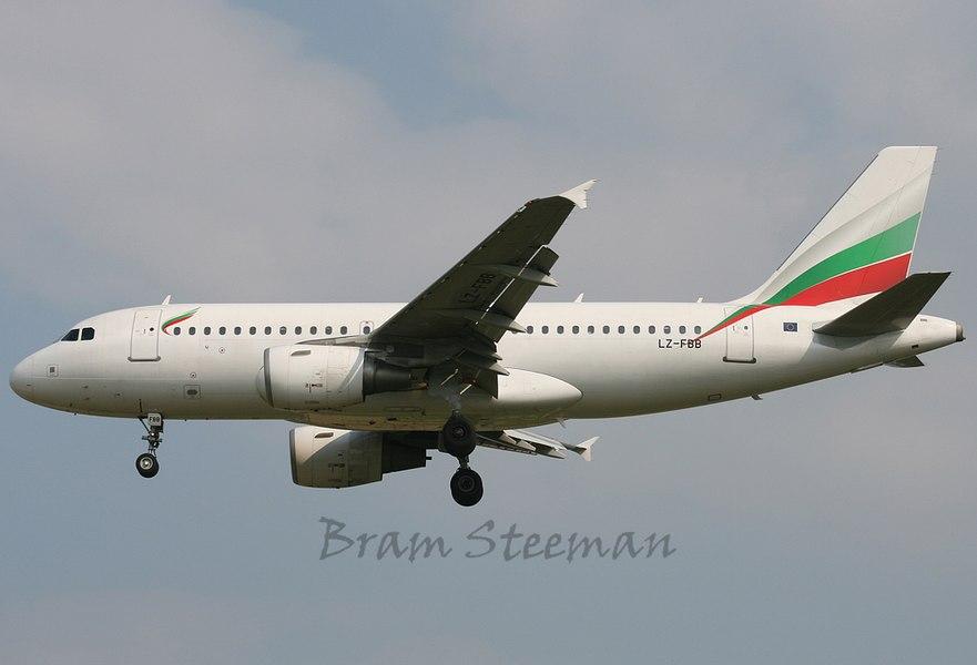 LZ-FBB Bulgarian Air Airbus A319