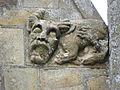 La Guerche-de-Bretagne (35) Basilique Collatéral sud Détail sculpté 08.JPG