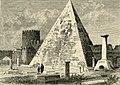 La piramide di Cestio. Sepolcro romano antico a Roma.jpg