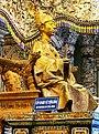 La statue du Roi (Tombeau de Khai Dinh) (4378993968).jpg