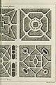La theorie et la pratique du jardinage - , comme sont les parterres, les bosquets, les boulingrins, &c. - contenant plusieurs plans et dispositions generales de jardins, nouveaux desseins de parterres (14783219742).jpg