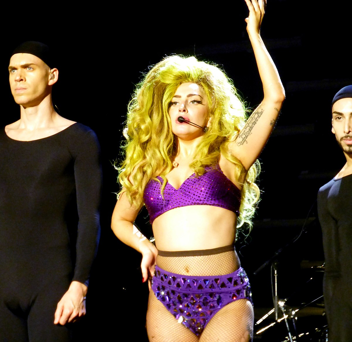 You lady gaga applause consider, that