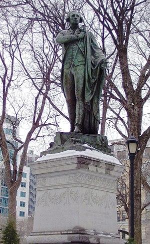 Marquis de Lafayette (Bartholdi) - The sculpture in 2011