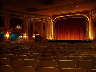 Suffern, New York - Lafayette Theatre interior