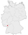 Lage Neustadt an der Weinstrasse in Deutschland.png