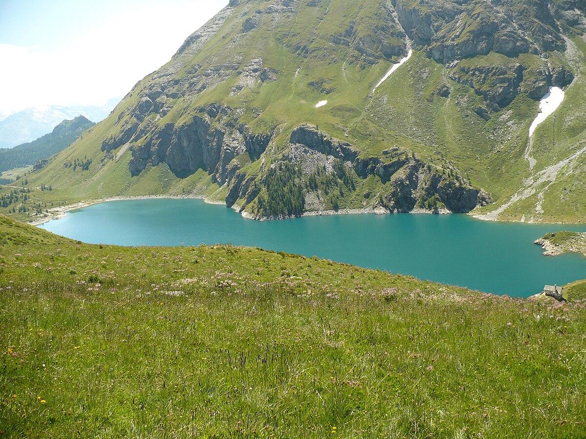 Lago di cignana wikipedia for Lago n