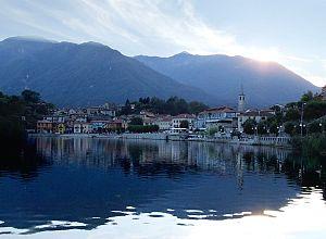 Mergozzo - The sun sets over Mergozzo