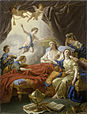 Lagrenee, Louis Jean - Allegory on the Death of the Dauphin - 1765.jpg