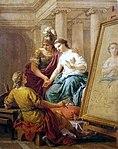 Lagrenee, Louis Jean - Apelles verliebt sich in die Geliebte Alexander des Große - 1772.jpg