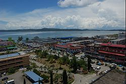 Lahad Datu town and seaview.jpg
