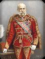 Lajos Osko Miniatur Franz Joseph I in ungarischer Uniform.jpg