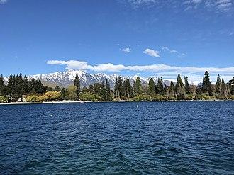 Lake Wakatipu - Lake Wakatipu and The Remarkables