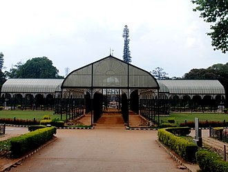 Lal Bagh - Lalbagh Botanical Garden Glass House, dating from 1889