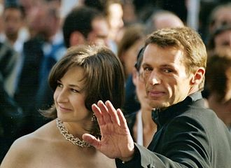 Lambert Wilson - Valérie Lemercier and Lambert Wilson at the 2005 Cannes Film Festival