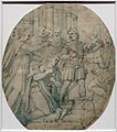 Lambert van noort, il giudizio di salomone, 1568.jpg