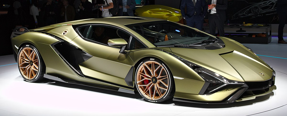 Lamborghini Sián FKP 37 - Wikipedia