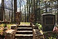 Lamington Black Cemetery, NJ - entrance gate.jpg