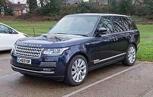 Range Rover (L405) - Image: Land Rover Range Rover Autobiography 2016