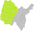 Lapeyrouse (Ain) dans son Arrondissement.png