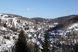 Lauscha - Lauscha valley in winter