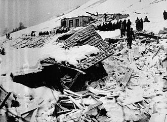 1954 Blons avalanches - Aftermath of the avalanches