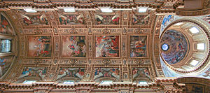 Sant'Andrea della Valle - Vault over the nave.