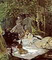 Le Déjeuner sur l'herbe - Monet (Middle fragment, Musée d'Orsay).jpg