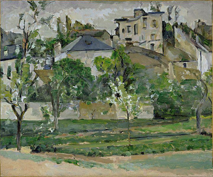ファイル:LeJardin de Maubuisson、Pontoise、Paul Cezanne.jpg