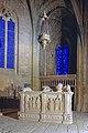 Le chateau de Biron, le tombeau de Pons de Gontaut dans la chapelle haute, commune de Biron, Dordogne, France.jpg
