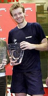 Lee Beachill British squash player