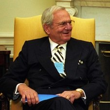 Lee Iacocca at the White House in 1993