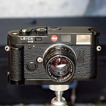 Leica M6 with optional grip