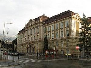 Montanuniversität Leoben - The main building of the Montanuniversität Leoben