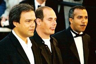 The Three Brothers (film) - Didier Bourdon, Bernard Campan and Pascal Légitimus