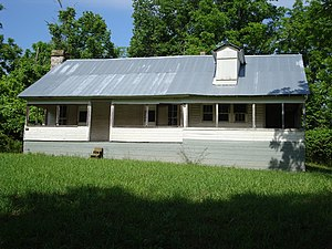 National Register of Historic Places listings in Shannon County, Missouri - Image: Lesh Williams House MO NPS