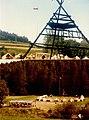Letní skautský tábor Velen VI exilového oddílu br.Čapků, Dorna (Rakousko) 1981.jpg