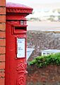 Letter box overlooking the bay at Minehead, Somerset (3592741114).jpg