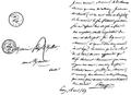 Lettre de Pierre-Jean de Béranger à Félix Milliet.png