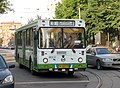 LiAZ-5256.25 on tram compensatory route 0 in Moscow.jpg