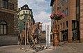 Liberec, sculptuur van Michal Gabriel Jezdec IMG 7194 2018-08-08 17.35.jpg