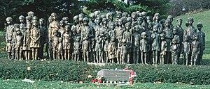 Denkmal der Kinder von Lidice, 2001