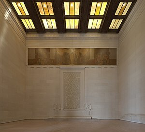 Lincoln Memorial (south wall interior).jpg