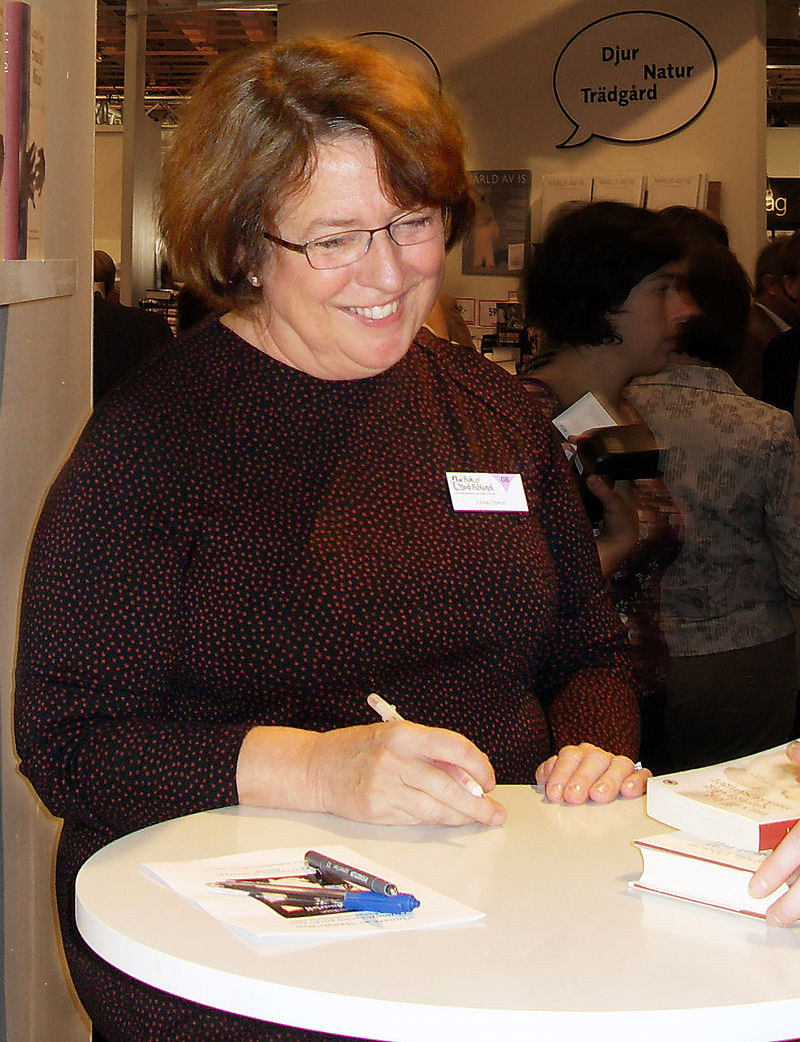 Linda Olsson på Bok- & Biblioteksmässan i Göteborg 2008
